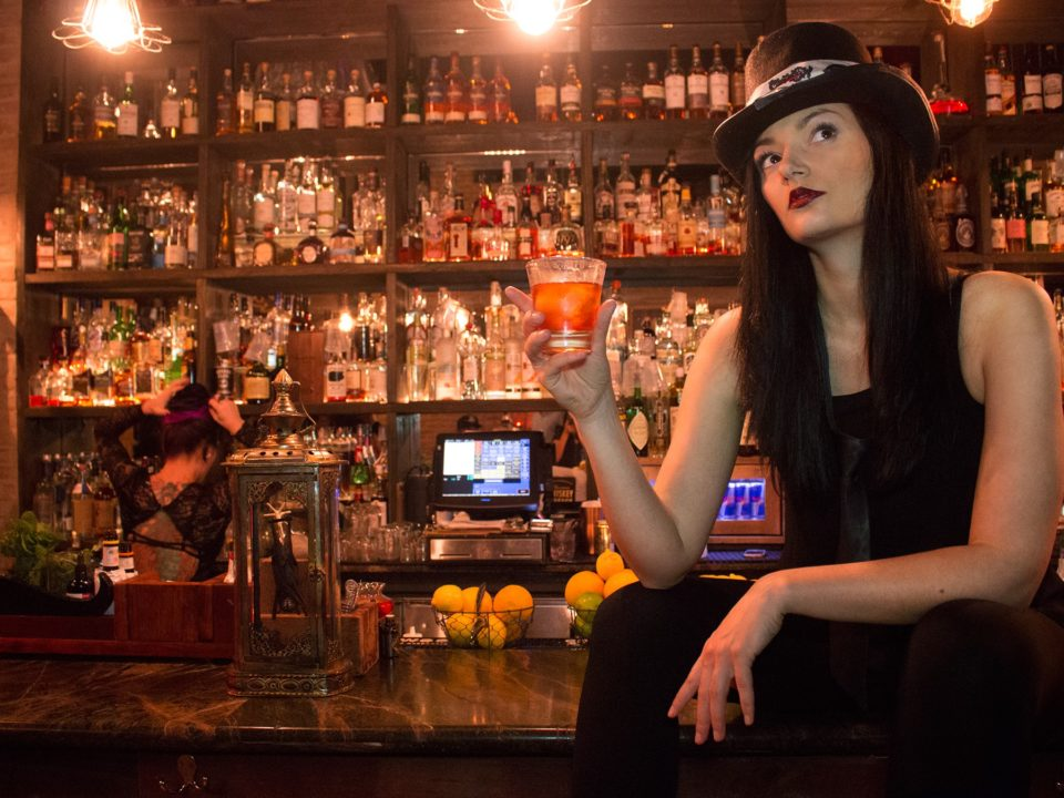 Photo of bartender Anita Bogacz