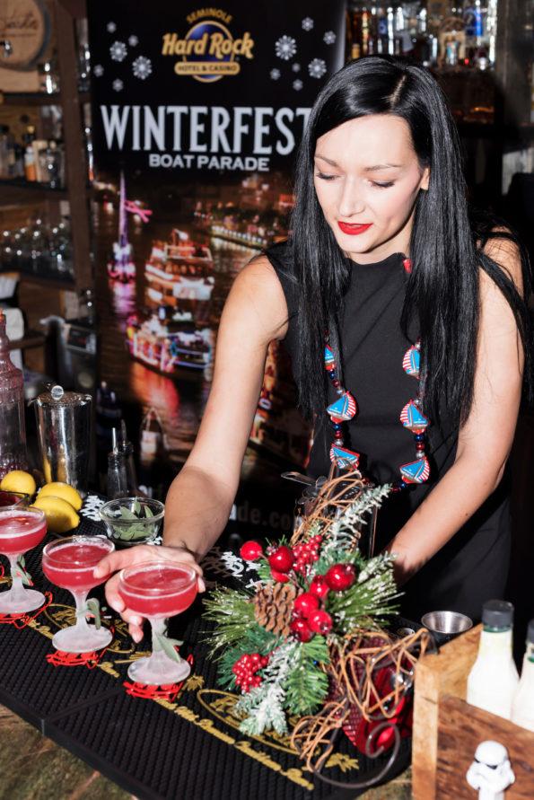 Photo of Anita Bogacz with her winning cocktail