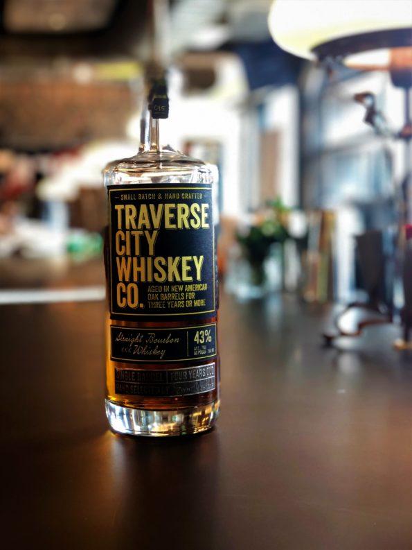 Bottle of Traverse City Whiskey