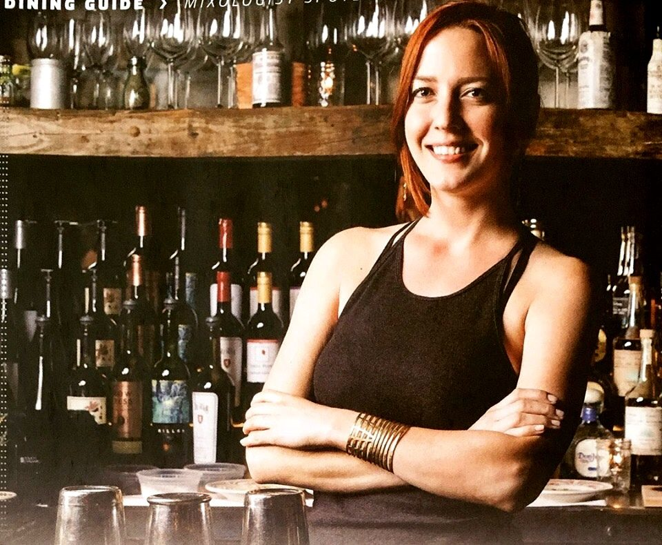 Libby Volgyes photograph of bartender Jessie Bell