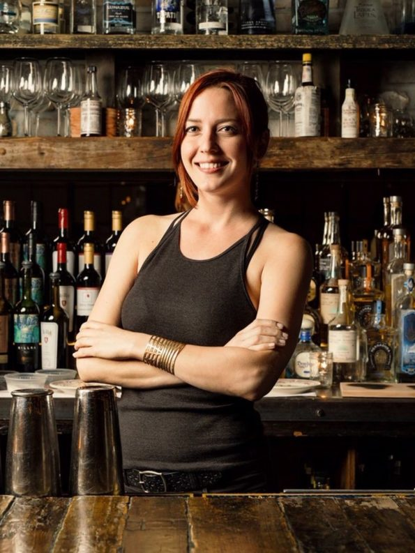 Image of Bar Brawls winner Jessica Bell