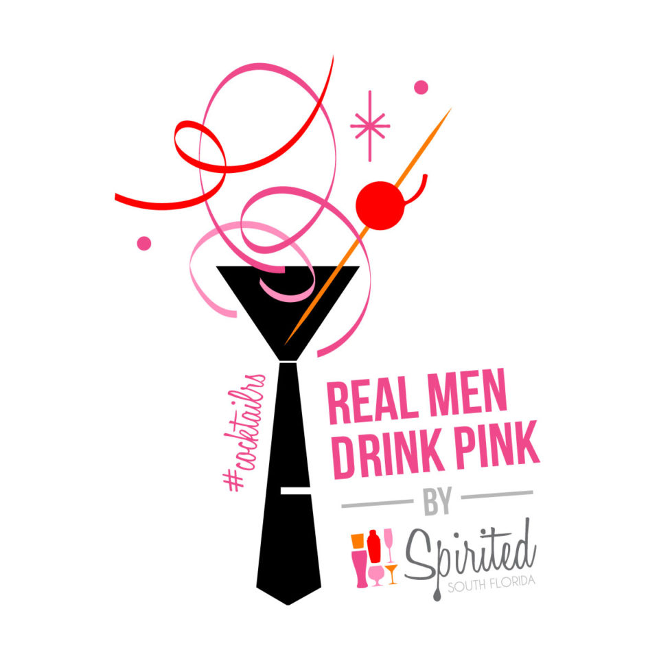 Image of Real Men Drink Pink Logo